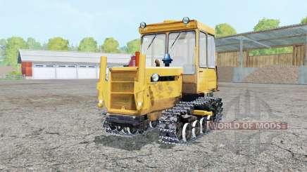 DT-75ML de cor laranja brilhante para Farming Simulator 2015