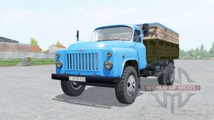 GAZ-53, de cor azul, para Farming Simulator 2017