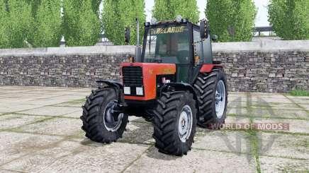 MTZ-82.1 Bielorrússia, de cor vermelho brilhante para Farming Simulator 2017