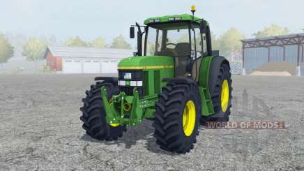 John Deere 6610 change wheels para Farming Simulator 2013
