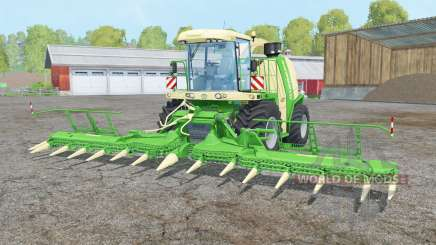 Krone BiG X 1100 double colonial white para Farming Simulator 2015