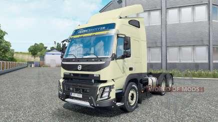 Volvo FMX 540 6x6 Globetrotter cab 2013 para Euro Truck Simulator 2