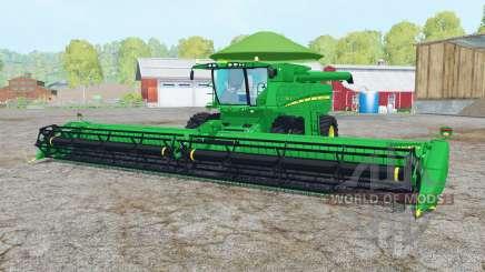 John Deere S680 pantone green para Farming Simulator 2015