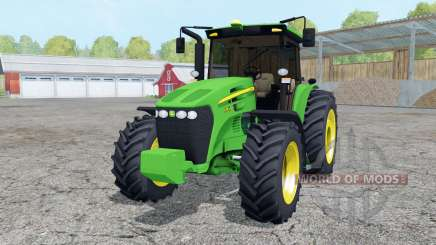 John Deere 7195J vivid malachite para Farming Simulator 2015