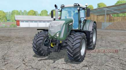 Fendt 933 Vario dark lime green para Farming Simulator 2015
