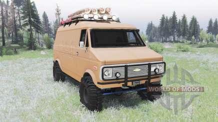 Chevrolet G10 1975 v2.0 para Spin Tires