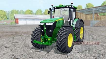 John Deere 7310R extra weights para Farming Simulator 2015