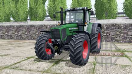 Fendt Favorit 824 dark lime green para Farming Simulator 2017