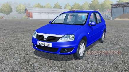 Dacia Logan 1.6 MPI 2008 para Farming Simulator 2013