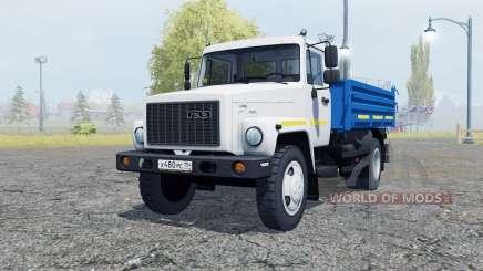 GAZ SAZ 35071 cor branca para Farming Simulator 2013