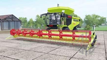 Claas Lexion 780 inch worm para Farming Simulator 2017