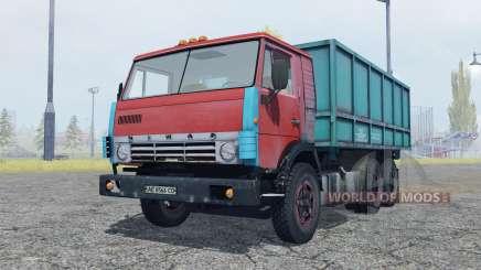 KamAZ 53212 moderadamente vermelho para Farming Simulator 2013