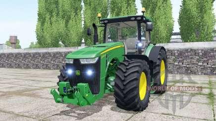 John Deere 8370R spanish green para Farming Simulator 2017
