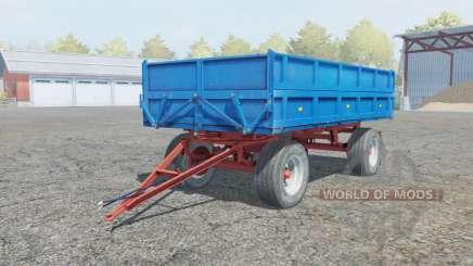 Fortschritt HL 80.11 rich electric blue para Farming Simulator 2013