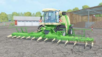 Krone BiG X 1100 lime green para Farming Simulator 2015