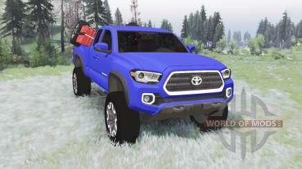 Toyota Tacoma TRD Off-Road Access Cab 2016 v1.2 para Spin Tires
