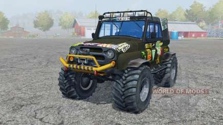 UAZ Hunter (315195-130) Monstro para Farming Simulator 2013