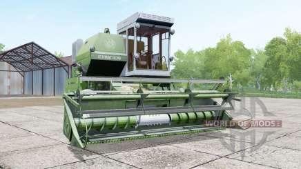Yenisei, 1200-1M na cor dos espargos para Farming Simulator 2017