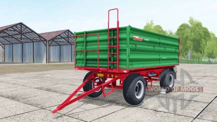 Warfama T-670 lime green para Farming Simulator 2017