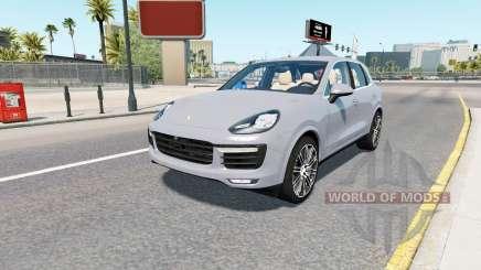 Porsche Cayenne Turbo S (958) 2015 para American Truck Simulator