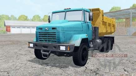 KrAZ-6510 cor azul para Farming Simulator 2015