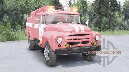 ZIL-130 AC-40 macio, de cor vermelho- para Spin Tires