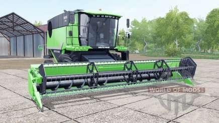 Deutz-Fahr 6095 HTS header trailer para Farming Simulator 2017
