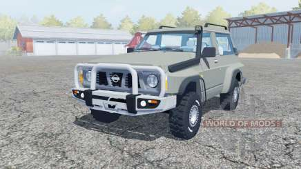 Nissan Patrol GR SLX 3-door (Y60) para Farming Simulator 2013