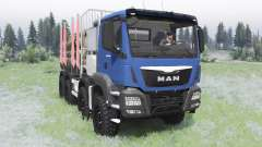 MAN TGS 41.480 2012 para Spin Tires
