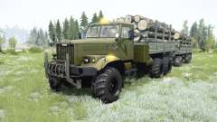 KrAZ-255B para MudRunner