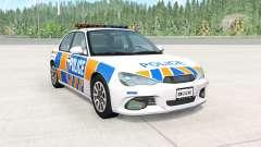 Hirochi Sunburst New Zealand Police v0.4 para BeamNG Drive