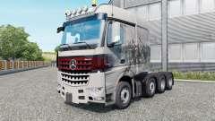 Mercedes-Benz Arocs 4158 SLT 2013 v1.5.5 para Euro Truck Simulator 2