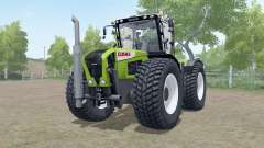 Claas Xerion 3000 Trac VC wheels selection para Farming Simulator 2017