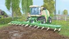 Krone BiG X 1100 silage tank para Farming Simulator 2015