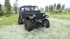 Jeep Wrangler (TJ) 2006 lifted para MudRunner