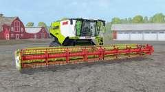Claas Lexion 780 TerraTraꞔ para Farming Simulator 2015