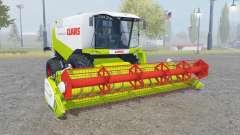 Claas Lexion 550 with headers para Farming Simulator 2013