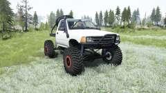 Toyota Hilux crawler para MudRunner