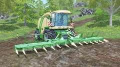 Krone BiG X 1100 animated joystick para Farming Simulator 2015