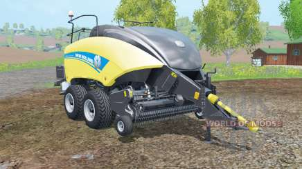 New Holland BigBaler 1290 new wheels para Farming Simulator 2015