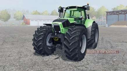 Deutz-Fahr Agrotron X 720 2012 front loader para Farming Simulator 2013