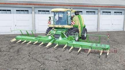 Krone BiG X 1100 selectable weight para Farming Simulator 2015