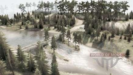 Rios dos montes Urais para MudRunner