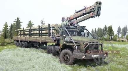 Ural-4320-10 para MudRunner