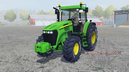 John Deere 7820 add wheels para Farming Simulator 2013