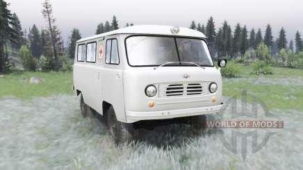 UAZ-450A 1957 para Spin Tires