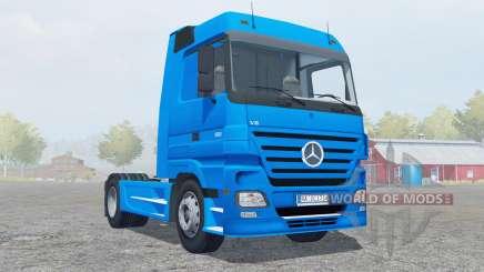 Mercedes-Benz Actros 1860 (MP2) 4x4 2005 para Farming Simulator 2013