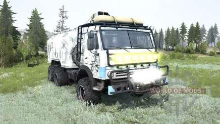 KamAZ-43114 para MudRunner