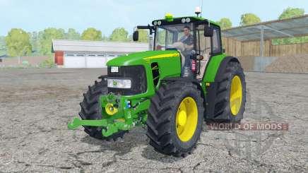 A John Deere 7430 Premium de animação elemenƫ para Farming Simulator 2015