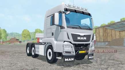 MAN TGS 6x2-4 para Farming Simulator 2015